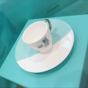 New Tiffany Blue Bear Bricks Silverware Set x 2